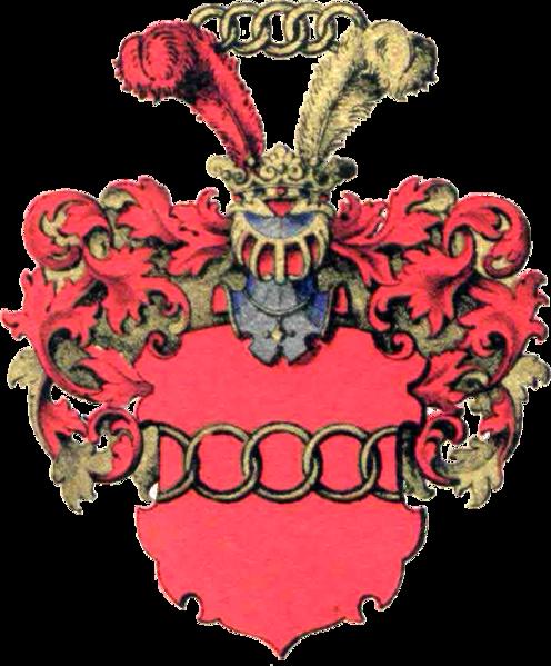 Attēls:Baron Boenningshausen genannt Budberg Wappen.png