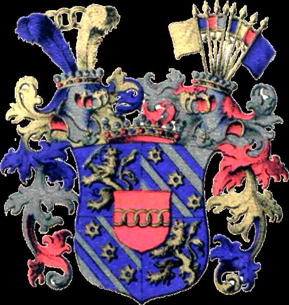 Attēls:Baron Budberg und Boenningshausen genannt Budberg Wappen.png